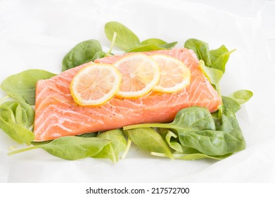 Healthy and diet fish for dinner