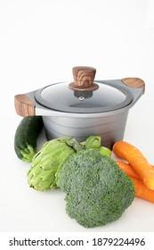 Healthy diet with PFOA free casserole