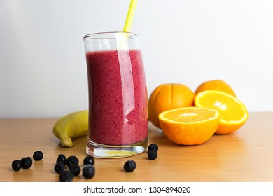 Healthy drinks  Aronia Smoothie