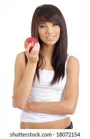 Healthy Eating Woman portrait