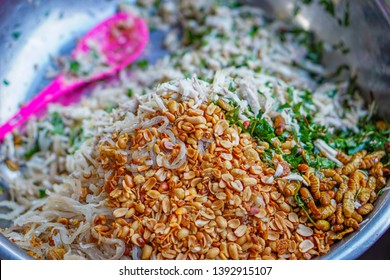 Healthy food at Con Market, Da Nang, Vietnam