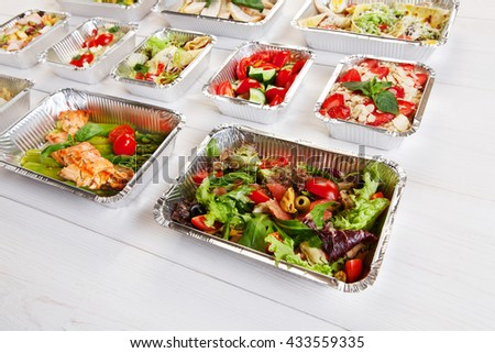 Healthy Food Delivery Take Away Natural Stock Photo Edit Now