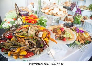 Healthy food layout