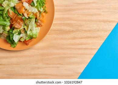 Healthy food: Salad