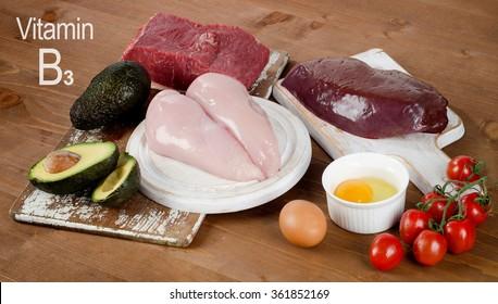 Healthy Foods High In Vitamin B3.