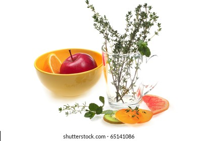 healthy fruits and tasty view