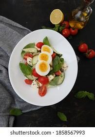 Healthy Keto Salad /diet food unedited