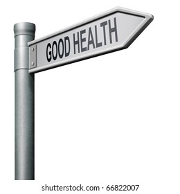 healthy life road to good health and vitality energy healthy mind and body icon button