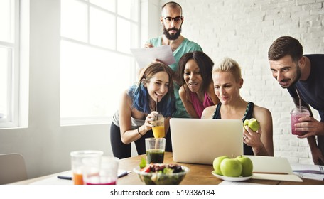 Healthy Lifestyle Diet Nutrition Concept