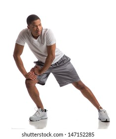 Healthy Looking Happy Young African American Male Ready Workout