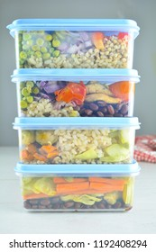 Healthy Meal Prep - recipe preparation photos