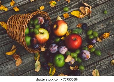 Healthy mixed fruit mix