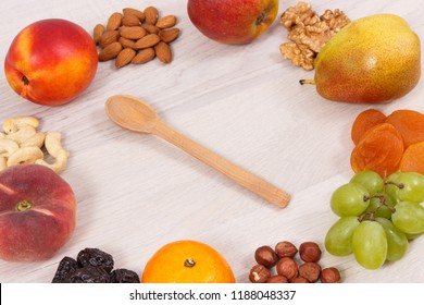 Healthy nutritious food as source vitamins, dietary fiber and natural minerals