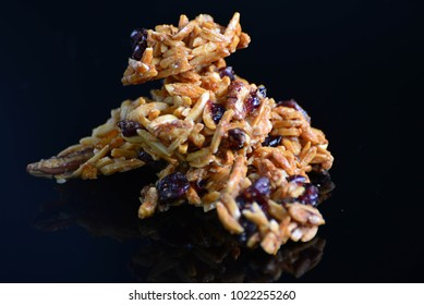 healthy nuts and fiver granola