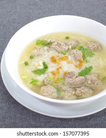 Healthy rice soup
