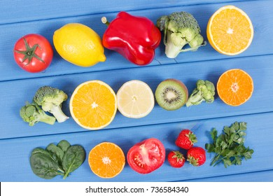 Vitamin c images stock photos vectors shutterstock healthy ripe fruits and vegetables containing vitamin c natural minerals and dietary fiber healthy workwithnaturefo