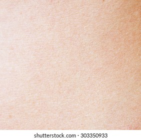 healthy skin texture