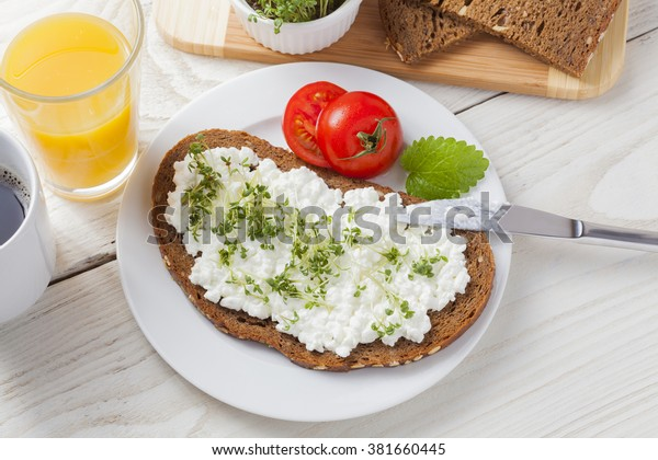 Healthy Spring Summer Low Fat Breakfast Backgrounds Textures