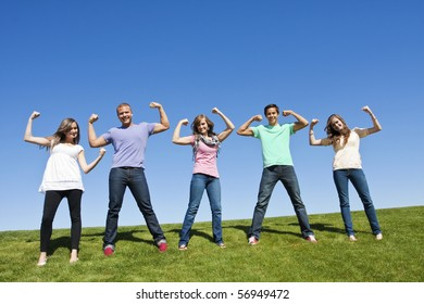 Healthy and Strong Young Adults