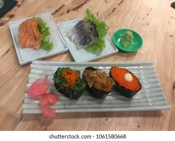 Healthy suchi in chiangmai restaurant