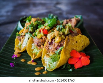 healthy vegan jackfruit tacos