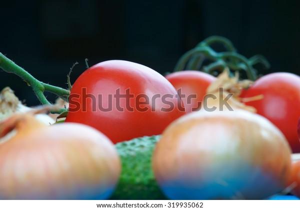 Healthy vegetables mix