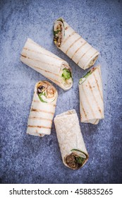 healthy wraps sandwich, mexican food