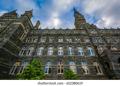 Healy Hall, at Georgetown University, in Washington, DC.