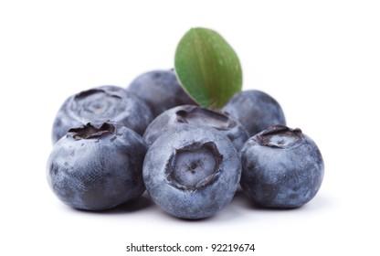 heap of blueberries