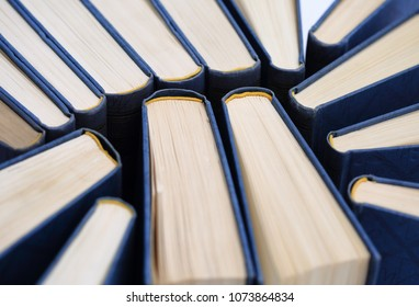 Heap of books symbol of literary and knowledge
