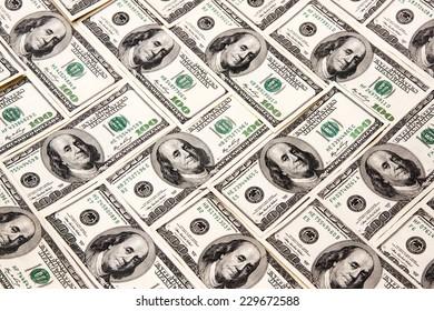 heap of dollars, money background