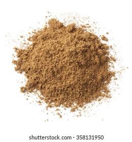 Heap of ground five-spice powder