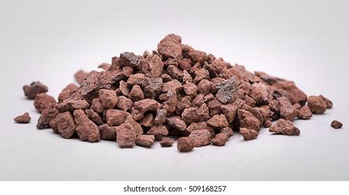 Heap of Natural Iron Ore