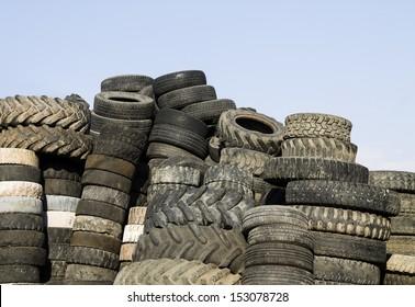 Heap of tires