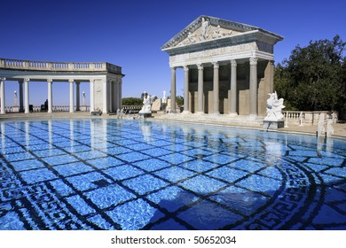 Hearst Castle Outdoor Pool, California