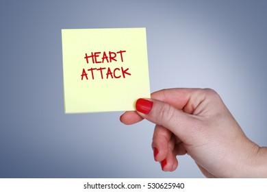 Heart Attack, Health Concept
