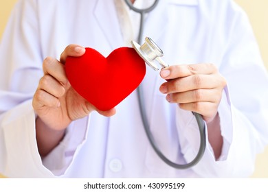 Heart care, medical concept