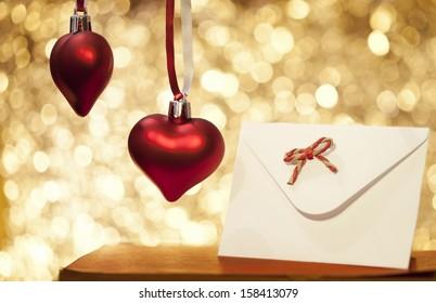 heart christmas love message
