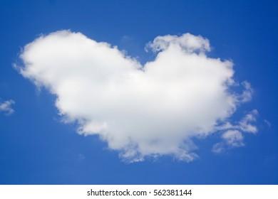 Heart cloud / Blue sky of love