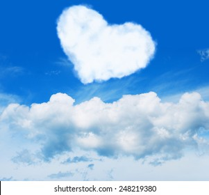 Heart. Cloud. Sky.