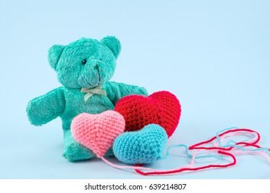 naughty bears kissing