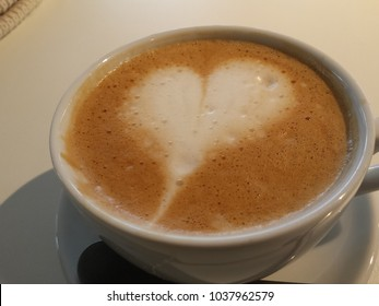 heart in a cup