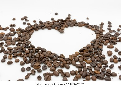 a heart of delicious coffee