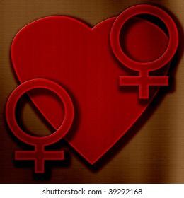 heart gay love