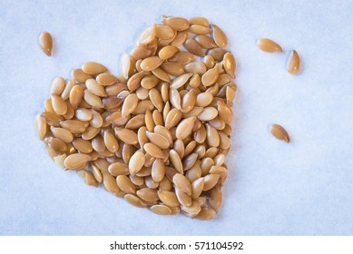 Heart healthy whole gold flaxseed