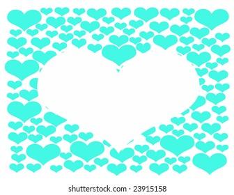 Heart illustration   background for Valentin`s day etc.