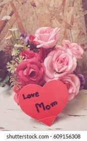 Heart of love mom