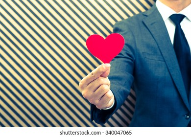 Heart mark and men
