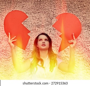 Heart on Fire, the broken heart