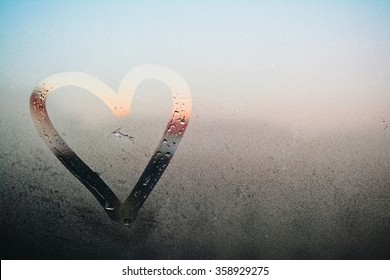Heart on the Glass